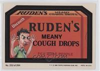 Ruden's Cough Drops