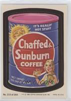 Chaffed & Sunburn