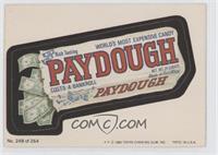 Paydough