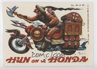 Hun on a Honda [GoodtoVG‑EX]