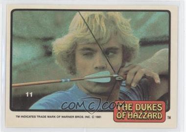 1981 Donruss Dukes of Hazzard Stickers - [Base] #11 - [Missing]