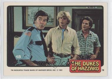 1981 Donruss Dukes of Hazzard Stickers - [Base] #18 - [Missing]