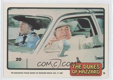 1981 Donruss Dukes of Hazzard Stickers - [Base] #20 - [Missing]