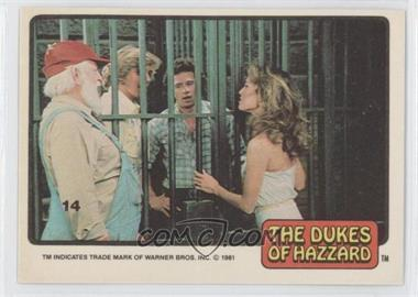 1981 Donruss Dukes of Hazzard Stickers #14 - [Missing]
