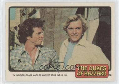 1981 Donruss Dukes of Hazzard Stickers #6 - [Missing]