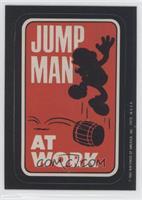 Jump Man at Work
