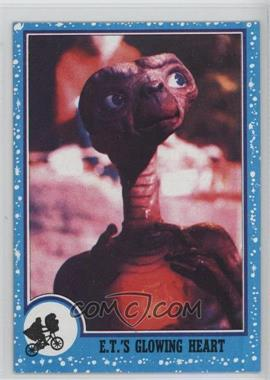 1982 Topps E.T. The Extra Terrestrial in His Adventure on Earth #68 - E.t.'s Glowing Heart
