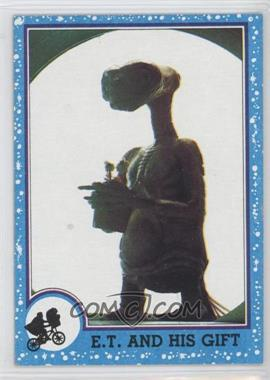 1982 Topps E.T. The Extra Terrestrial in His Adventure on Earth #78 - E.t. And His Gift