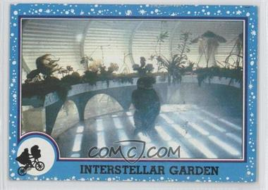 1982 Topps E.T. The Extra Terrestrial in His Adventure on Earth #80 - Interstellar Garden