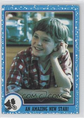 1982 Topps E.T. The Extra Terrestrial in His Adventure on Earth #85 - An Amazing New Star!