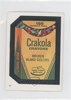 Crakola Crayons