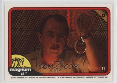1983 Donruss Magnum P.I. #11 - [Missing]