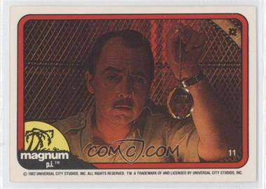 1983 Donruss Magnum P.I. #11 - [Missing]