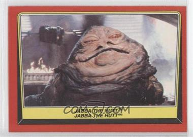 1983 O-Pee-Chee Star Wars: Return of the Jedi - [Base] #14 - Jabba The Hutt