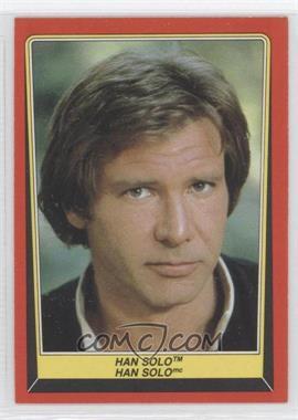 1983 O-Pee-Chee Star Wars: Return of the Jedi - [Base] #4 - Han Solo