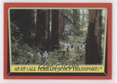 1983 Topps Star Wars: Return of the Jedi - [Base] #106 - AT-ST (All Terrain Scout Transport)