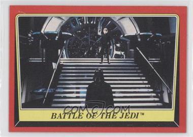 1983 Topps Star Wars: Return of the Jedi - [Base] #119 - Battle of the Jedi