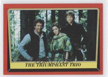 1983 Topps Star Wars: Return of the Jedi - [Base] #128 - The Triumphant Trio