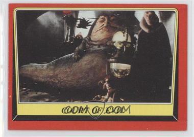 1983 Topps Star Wars: Return of the Jedi - [Base] #13 - Court of Evil
