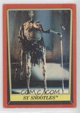 1983 Topps Star Wars: Return of the Jedi - [Base] #22 - Sy Snootles
