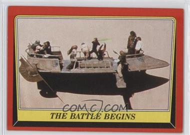 1983 Topps Star Wars: Return of the Jedi - [Base] #42 - The Battle Begins