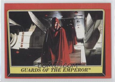 1983 Topps Star Wars: Return of the Jedi - [Base] #55 - Guards of the Emperor