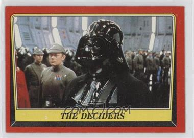 1983 Topps Star Wars: Return of the Jedi - [Base] #56 - The Deciders