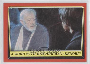 1983 Topps Star Wars: Return of the Jedi - [Base] #59 - A Word with Ben (Obi-Wan) Kenobi