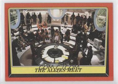 1983 Topps Star Wars: Return of the Jedi - [Base] #60 - The Allies Meet