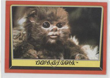 1983 Topps Star Wars: Return of the Jedi - [Base] #88 - The Baby Ewok