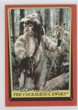 1983 Topps Star Wars: Return of the Jedi [???] #103 - The Courageous Ewoks