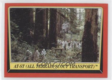 1983 Topps Star Wars: Return of the Jedi [???] #106 - AT-ST (All Terrain Scout Transport)