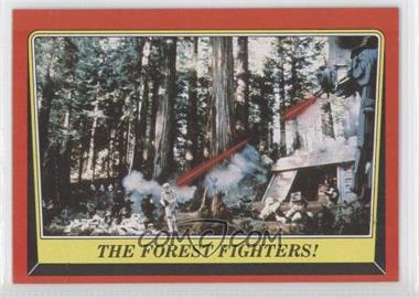 1983 Topps Star Wars: Return of the Jedi [???] #107 - The Forest Fighters!