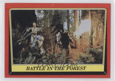 1983 Topps Star Wars: Return of the Jedi [???] #112 - Battle in the Forest