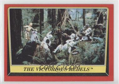 1983 Topps Star Wars: Return of the Jedi [???] #114 - The Victorious Rebels