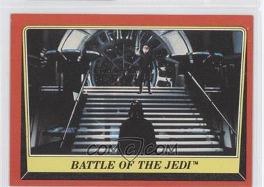 1983 Topps Star Wars: Return of the Jedi [???] #119 - Battle of the Jedi