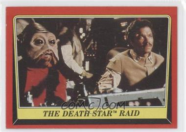 1983 Topps Star Wars: Return of the Jedi [???] #123 - The Death Star Raid