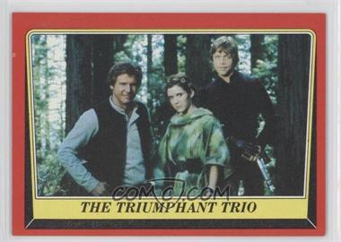1983 Topps Star Wars: Return of the Jedi [???] #128 - The Triumphant Trio