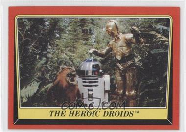 1983 Topps Star Wars: Return of the Jedi [???] #129 - The Heroic Droids