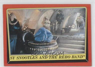 1983 Topps Star Wars: Return of the Jedi [???] #20 - Sy Snootles and The Rebo Band