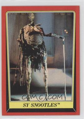 1983 Topps Star Wars: Return of the Jedi [???] #22 - Sy Snootles