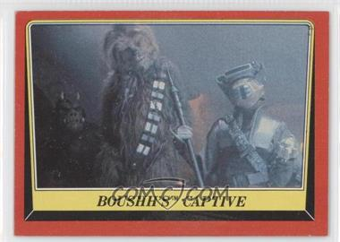 1983 Topps Star Wars: Return of the Jedi [???] #24 - Boushh's Captive
