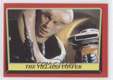 1983 Topps Star Wars: Return of the Jedi [???] #26 - The Villains Confer