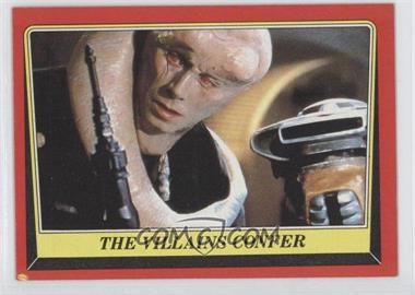 1983 Topps Star Wars: Return of the Jedi [???] #26 - The Villains Confer