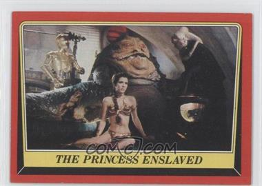 1983 Topps Star Wars: Return of the Jedi [???] #32 - The Princess Enslaved