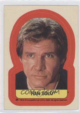 1983 Topps Star Wars: Return of the Jedi [???] #36 - Han Solo