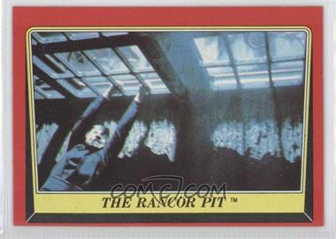 1983 Topps Star Wars: Return of the Jedi [???] #36 - The Rancor Pit