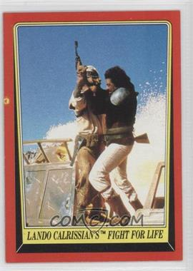 1983 Topps Star Wars: Return of the Jedi [???] #43 - Lando Calrissian's Fight for Life