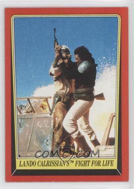 1983 Topps Star Wars: Return of the Jedi [???] #43 - Lando Calrissian's Fight for Life