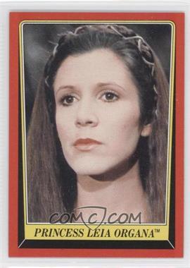 1983 Topps Star Wars: Return of the Jedi [???] #5 - Princess Leia Organa
